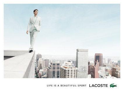 Lacoste se recentre sur son coeur de marque: pub,digital | Beauty Decoder | Mode et fashion | Scoop.it