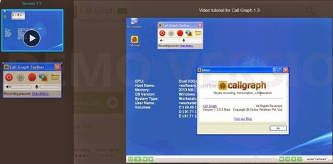 ENSEIGNANT WEB 2.0 et LANGUES: Call Graph - Software Informer. CallGraph is a software tool that record your Skype conversations.   Ressources informatiques   Scoop.it