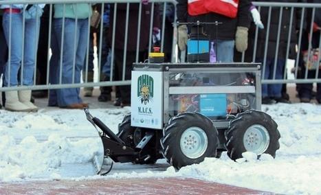 Des robots chasse-neige pour déneiger la France ? | Robot&Co | Scoop.it