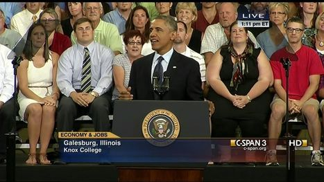 President Obama Remarks at Knox College - C-SPAN Video Library | Workplace Readiness Skills | Scoop.it