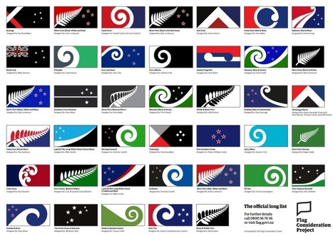 Designs That Might Be New Zealand's Next Flag | Geography Education | Scoop.it
