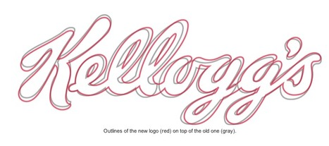 Kellogg's updates his logo | Logo | Scoop.it