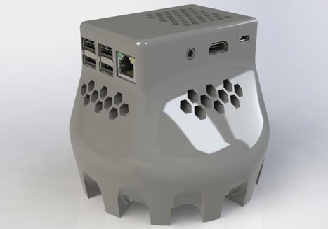 Unique 3D Printed Raspberry Pi 2 Case With 80mm Fan Created By Tripnutz - Geeky Gadgets   Raspberry Pi   Scoop.it