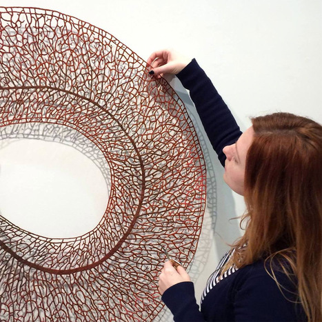 Meredith Woolnough | dans l'art du temps | Scoop.it