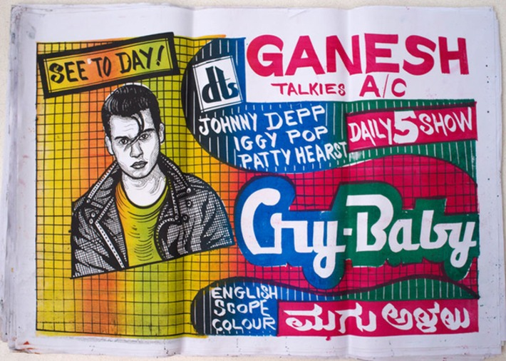 Awesome hand drawn movie posters from India | For Art's Sake-1 | Scoop.it