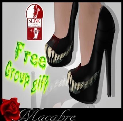 MACABRE - HALLOWEEN SMILE | Second Life Goodies | Scoop.it