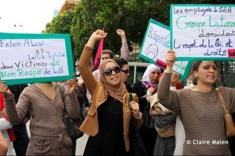 Des ouvrières tunisiennes en grève de la faim pour le droit au travail | Echos syndicaux | Scoop.it