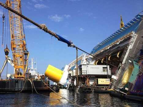The Insanely Complex, $400 Million Plan To Remove The Shipwrecked Costa Concordia Is Well Underway | La Gazzetta Di Lella - News From Italy - Italiaans Nieuws | Scoop.it