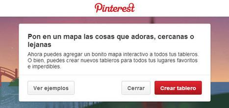 Algunas ideas prácticas para utilizar el mapa interactivo de Pinterest   TIC, educación y demás temas   Scoop.it