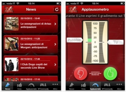Social TV and Second Screen Case Study: The X Factor Italy | Social TV, Transmedia, Broadcast Trends | Scoop.it