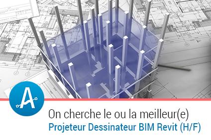 Dessinateur Projeteur REVIT (H/F) #BIM | Emploi #Construction #Ingenieur | Scoop.it