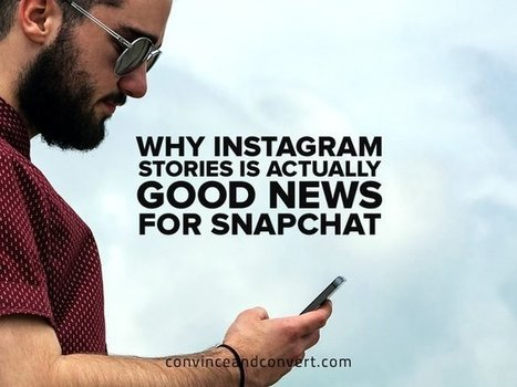 Why Instagram Stories is Actually Good News for Snapchat | Social Influence Marketing | Scoop.it