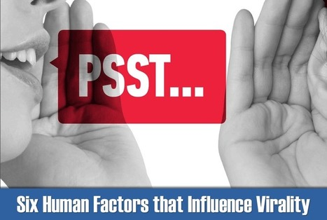 Six Human Factors that Influence Virality | Things charity | Scoop.it
