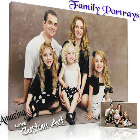 Tips and Ideas for Best Family Portrays   Custom Art   Scoop.it
