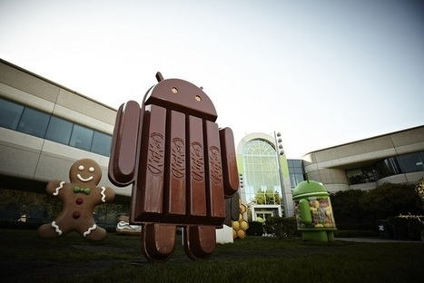 Android s'offre une pause Kit Kat | Inside Google | Scoop.it