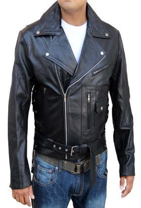 Black Brando Motor Biker Jacket is on 30/D Limited Time Sale with $40.00 Discount: | Arnold-Schwarzenegger-Terminator-leather-jacket | Scoop.it