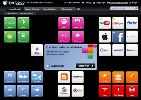 Symbaloo-A place where you can organize and share your favorite websites | Technology Advances | Scoop.it