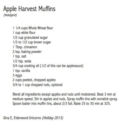 Apple Harvest Muffins | Best Fitness Challenge | Scoop.it