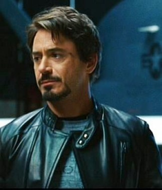Ironman Tony Stark Brown Leather Jacket Iron Man Retro Slim-fit Style   You like leather jackets since nobody ignored it   Scoop.it