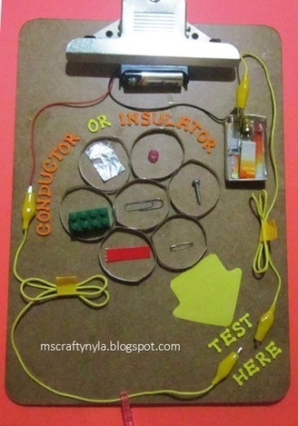 Nyla's Crafty Teaching: Conductor or Insulator Science Experiment | Science | Scoop.it