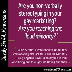 Are you non-verbally stereotyping in your gay marketing? | LGBT Business Community | Scoop.it