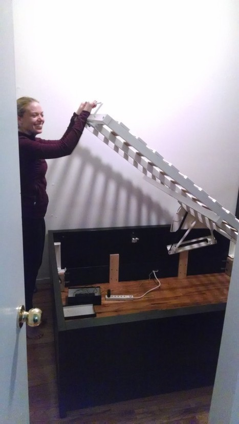 Lofted / Raised MALM Storage Bed converts to 18″ of Storage! - IKEA Hackers | Homemade DIY | Scoop.it