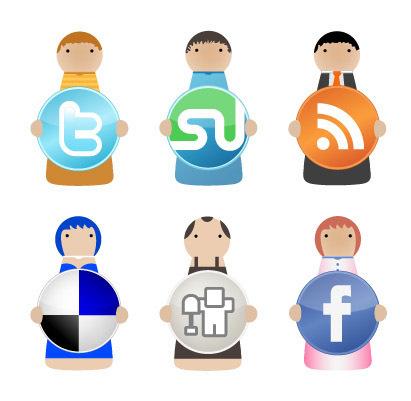 Always useful Social Media Icon Sets | Social Media talk-talk | Scoop.it
