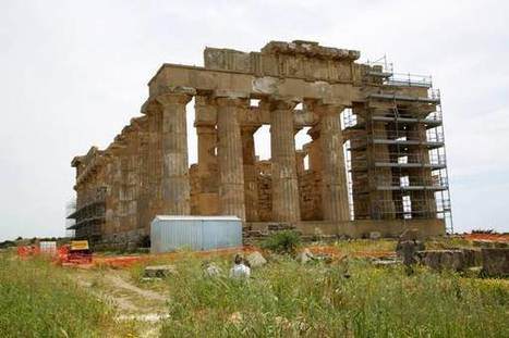 Archaeology, temples 'caged' against time in Selinunte - ANSAmed | News in Conservation | Scoop.it