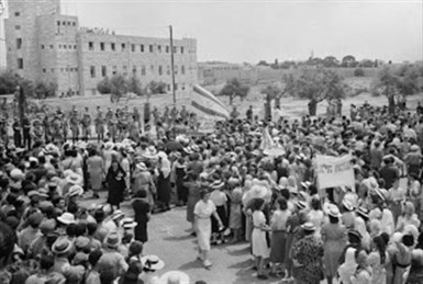 Israel's History in Pictures: Women for the State | British Genealogy | Scoop.it