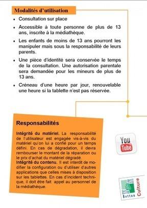 Tablettes en médiathèque   Médiathèque Théodore Monod à Betton   Les tablettes numériques   Scoop.it