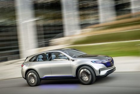 Mercedes launches EQ brand with electric SUV concept | Heron | Scoop.it