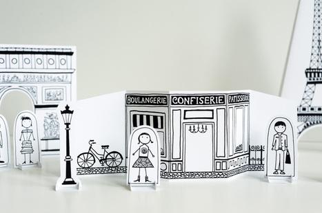 Made by Joel » Paper City Paris! | FLE enfants | Scoop.it
