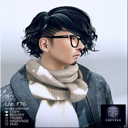 .:CHEVEUX:. by Japonica-和物市- - Japonica-和物市- | the second life fashion blog | Scoop.it