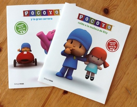 Spanish Books for Kids – Pocoyó Giveaway » Spanish Playground | Preschool Spanish | Scoop.it