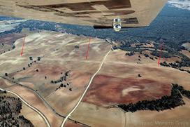 Foto aérea de vías romanas roturadas. Vía romana de Uxama a Clunia. | Roman Roads - Vías Romanas | Scoop.it