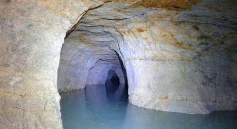 Les carrières souterraines de la Malogne: un secret bien gardé - RTBF Regions | Le monde souterrain, espace d'innovation | Scoop.it