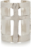 Pamela Love Sterling silver-plated cross cuff – 60% at THE OUTNET.COM | interest thing | Scoop.it