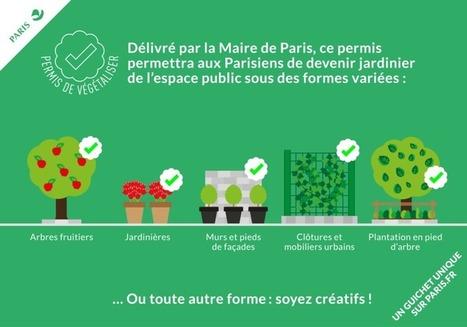 Un permis pour végétaliser Paris | Ecologie - Humanisme - Solidarités | Scoop.it
