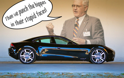 Bob Lutz: Stuff Sexy Fisker Corpses Full Of V8 Engines | News | Scoop.it