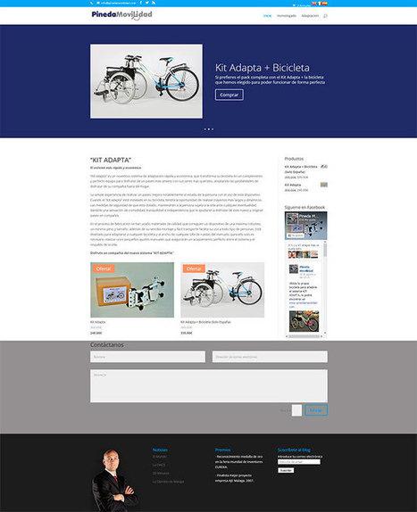 Rediseño Wordpress y Woocommerce Pineda Movilidad | Diseño Web Málaga | Scoop.it