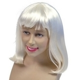 White Fancy Dress Cheerleader Deluxe Wig | Fancy Dress Ideas | Scoop.it