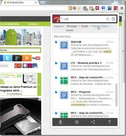 Busca en todos tus servicios online con CloudMagic « El Android Libre | Informatica-software | Scoop.it