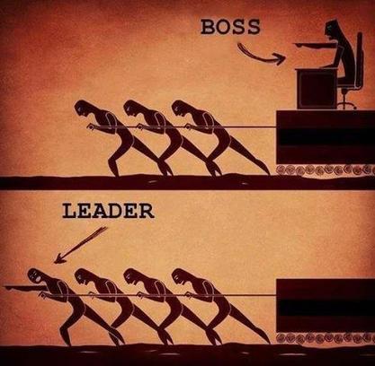 Boss or Leader ? | BlaiGarEN | Scoop.it