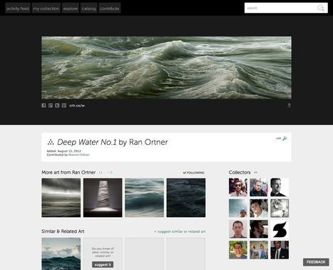 Article Clic France / Curiator: un nouveau réseau social dédié à l'art contemporain | Clic France | Scoop.it