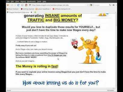 The Staged.com StageBot MAKE MONEY SHARING VIDEOS!   FINANCIAL FREEDOM QUICKLY SHARING VIDEOS   Scoop.it