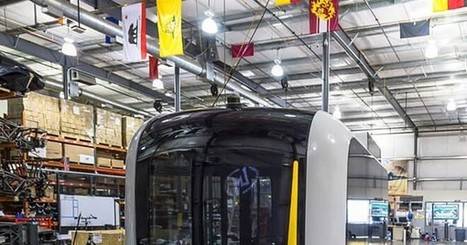 First autonomous 3D printed electric minibus | 3D Virtual-Real Worlds: Ed Tech | Scoop.it