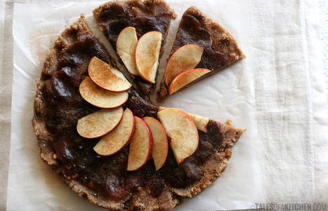 Apple caramel nut tart. Simple. Delicious. | Healthy food | Scoop.it