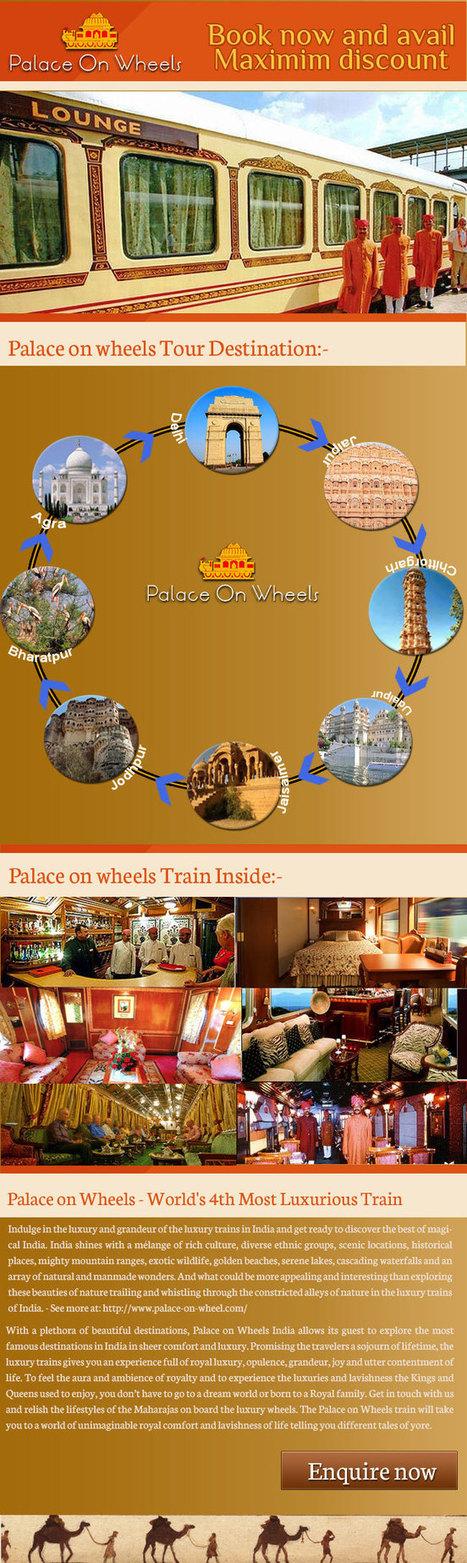 India Luxury Palace on Wheels Train Tour | Palace on wheels | Scoop.it