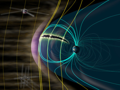 The magnetosphere has a large intake of solar wind energy | Fragments of Science | Scoop.it