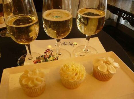 A Bottled Affair: Sparkling Wine and Cupcake Pairing | Sparkling Wines | Scoop.it